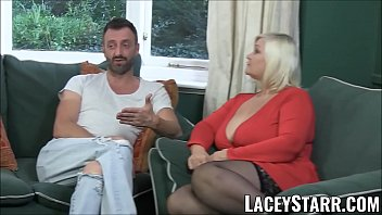 Lacey pink naked Laceystarr - leather clad granny gets interracial spitroast