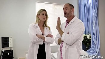 Tranny doctors Ts beauty surprises the doctor - transsensual