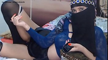 hot arab milf teasing sexy stockings skirt hijab - her Online page - xxxcams.site/jamile thumbnail