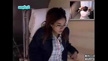 Beautiful Breasts Glasses Beautiful 25-year-old Housewife Ayako's Internal Examination Table Examination Angle B Devil's Obstetrics and Gynecology Examination Hidden Camera File02-C