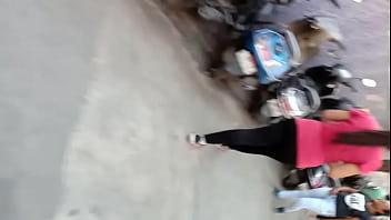 Desi ass walking