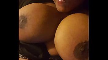 Lotioning My Titties