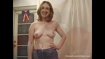 Big Tit Brunette Amateur Hates Shaving Her Hairy Bush