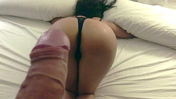 Lima Gray submissive 18-year-old young model undresses and tries the lashes with her male penis slowly until he sucks her with his tongue and finally penetrates her face down, crashing her ass in slow motion