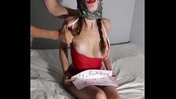 Fifi Fuckbag is a Limitless Slutty Teen who Loves Face Slap
