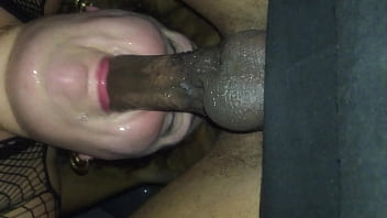 Deep Throat fuck and balls licked