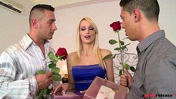 Hardbody slut Erica Fontes gets DP'ed by her 2 Boyfriends