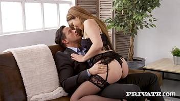 Private.com - Lingerie Clad Ginebra Bellucci Butt Banged & Creampied! 11分钟
