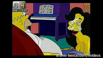 Simpsons Porn - Threesome image