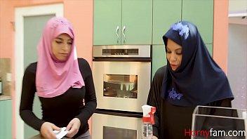Hijab Daughter Fucks Dad