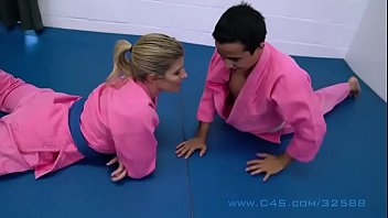 Cory Chase in Step Mom Wrestle Fucks her StepSon