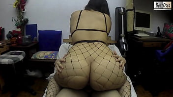 Thick Ass Latina RIDES my COCK to Pay off her BF's Debts