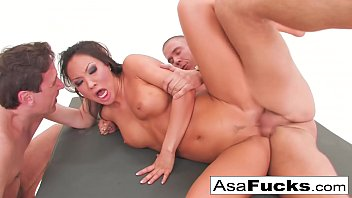 Asa Akira's Double Anal and Double Penetration