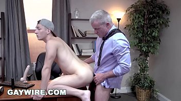 Gaywire - Tristan Hunter & Dale Savage's Threesome With Stepdad Eddy Ceetee