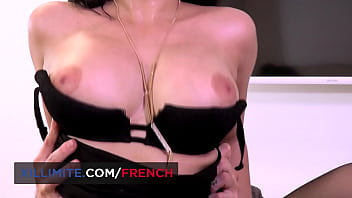 French big boobs brunette Sophia Laure anal sex