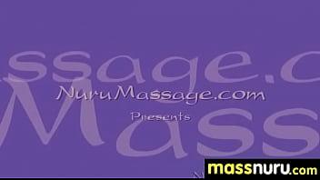 Nuru Massage Ends with a Hot Shower Fuck 18