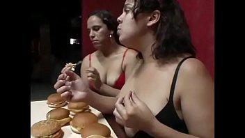 Overeating Girl Puking Vomiting Vomit Puke Gagging Barf