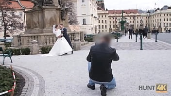 HUNT4K. Married couple decides to sell brides pussy for good price thumbnail