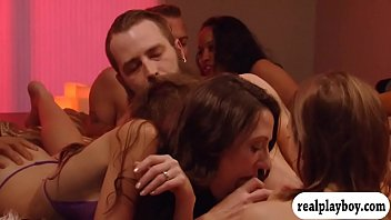 Swingers enjoyed groupsex in the mansion preview image