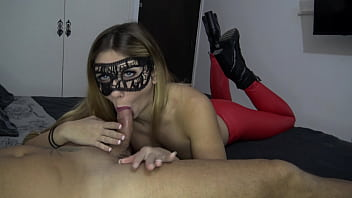 Sweetdollhot, blowjob with red leggings