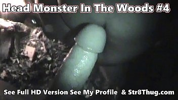 """Head Monster In The Woods 4 - New Years Campfire Big Str8Thug Dick In Faggot Throat 2020  - Johnny Knox <span class=""""duration"""">6 min</span>"""