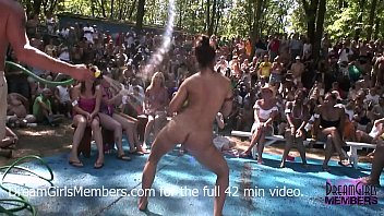 Pa nudist resort No rules wet t-shirt contest at a nudist resort