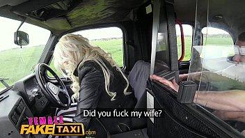 FemaleFakeTaxi Big tits blonde fucks her passenger