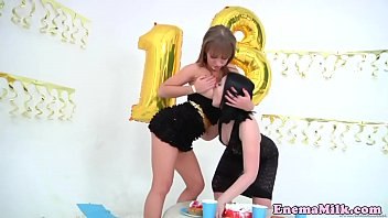 Bigbooty classy lesbian ass creamed and toyed
