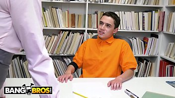BANGBROS - MILF Teacher Ariella Ferrera Helps Young Juan El Caballo Loco Pass His Class thumbnail