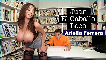 BANGBROS - MILF Teacher Ariella Ferrera Helps Young Juan El Caballo Loco Pass His Class