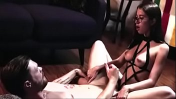 Girlfriend pegging her Hot and straight men