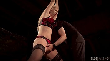 Big tits blonde punished and humiliated in bondage sex 10 min