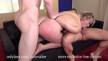 DP My Girl With Big Ass - Hard Assfucked - Sweet Moans - Cum Her Mouth (part 2)