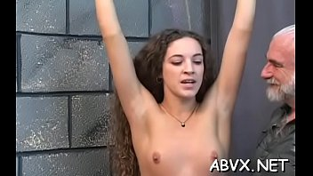 Free extreme femdom clips - Woman endures heavy stimulation in wild non-professional fetish clip