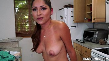News babes sex fantasies - Latina maid cleans naked