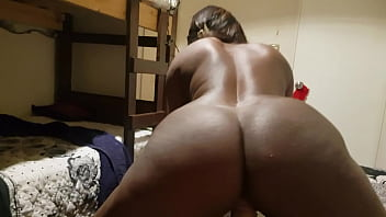 Rich black nympho loves assfucking and riding on the peak