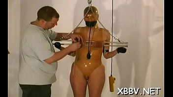 Viedo de xxx - Horny woman gets tits torture xxx in harsh sadomasochism video