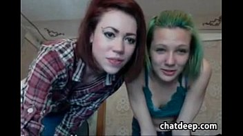Skinny Lesbians Girls Home Alone and Gonna Fucks and Fun on Cam
