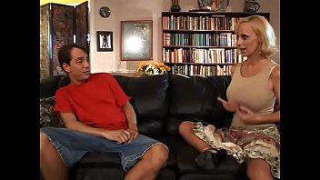 Hot slut Ericka Lockett enjoys getting her pussy banged after BJ then gets cum on her fake boobs thumbnail