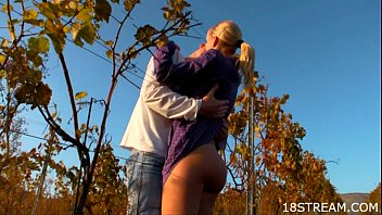 Outdoors Teen Sex In Doggy-style Pose