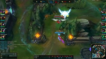 Ahri get she NINE ass fucked by Triggered Quinn