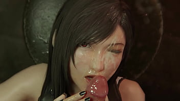 Tifa Blowjob ( Final Fantasy 7 )