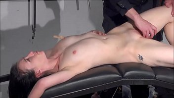 Gagged amateur slaves sextoy domination and spanked blowjob of whipped submissiv 7分钟