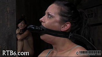 Hot bondage movie - Hard toy for beautys anal canal