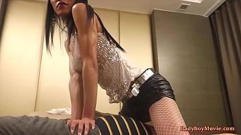 Ladyboy Jasmine Fucks Bareback A Guy