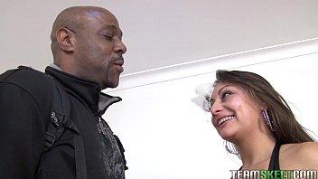 Interracial latina sex - Oyeloca smalltits latina ariana valdes hardcore interracial big cock sex