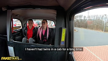 Fake Taxi Identical Sisters Lady Zee & Sandra Zee Fuck Euro Cabbie thumbnail
