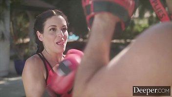 Deeper. Kissa Sins Gets More Than a Workout 12 min