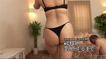 Subtitled Japanese facesitting handjob hell Mari Hosokawa 5 min