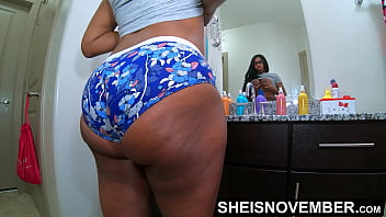 60fps Under The Blanket, Sheisnovember Pretty Ass Cheeks Laying SideWays In Bed Wearing Panties, Closeup Of Msnovember Sexy Exotic Thighs Spread on Sheisnovember 47 sec
